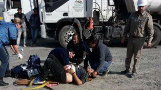 Un camionero apuñaló a otro porque intentó colarse y lo grabaron