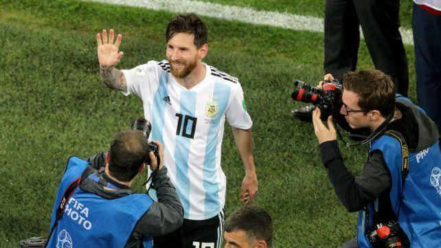 El sorpresivo destinatario de la camiseta de Messi