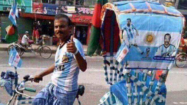 ¿Por qué se festeja en las calles de Bangladesh el triunfo de Argentina?