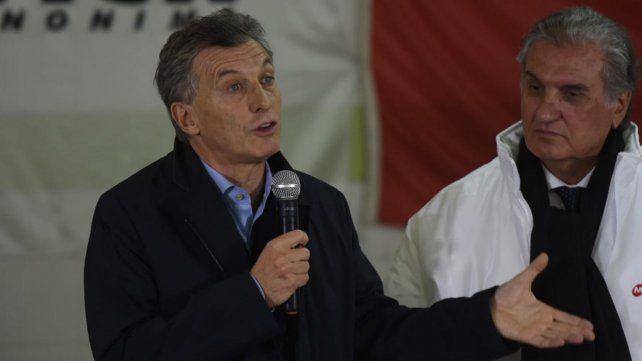 Macri, en Carcarañá, aseguró que está empeñado en terminar con los comportamientos mafiosos