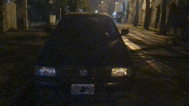 Qué encontraron adentro del auto que dejó abandonado Pity Alvarez