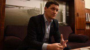 Maximiliano Neri asumió hace dos meses a cargo del directorio de la EPE.