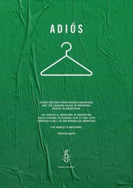 Provocativa publicación verde en el New York Times dedicada a Argentina