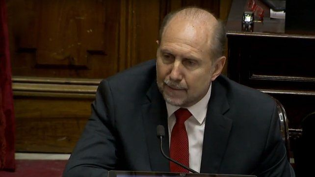 El senador santafesino Omar Perotti se abstuvo de votar