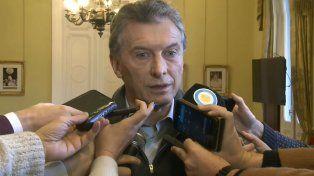 Macri dijo que el del aborto es parte de debates que comienzan y van a continuar