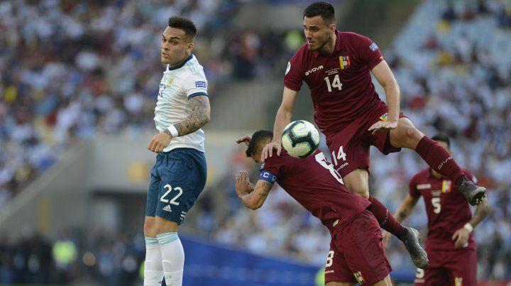 Martínez: Brasil será difícil, pero nosotros tenemos lo nuestro