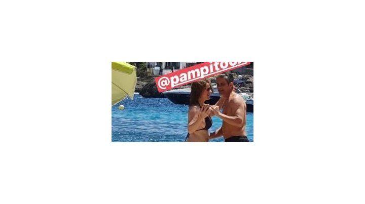 Las fotos de Nancy Dupláa y Pablo Echarri en las playas de Mallorca