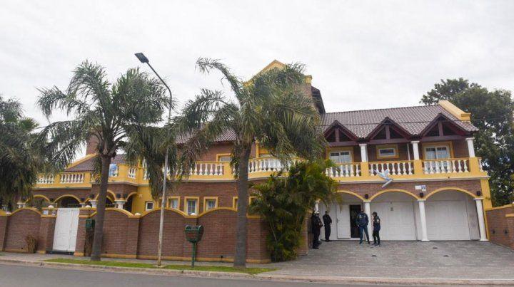 Cómo es la mansión donde fue detenido el sindicalista