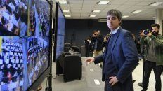 Problemas. El sábado 20 de julio se realizó el único simulacro de escrutinio. Adrián Pérez, desde el gobierno, defendió el nuevo sistema.