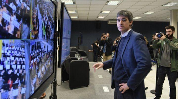 Problemas. El sábado 20 de julio se realizó el único simulacro de escrutinio. Adrián Pérez
