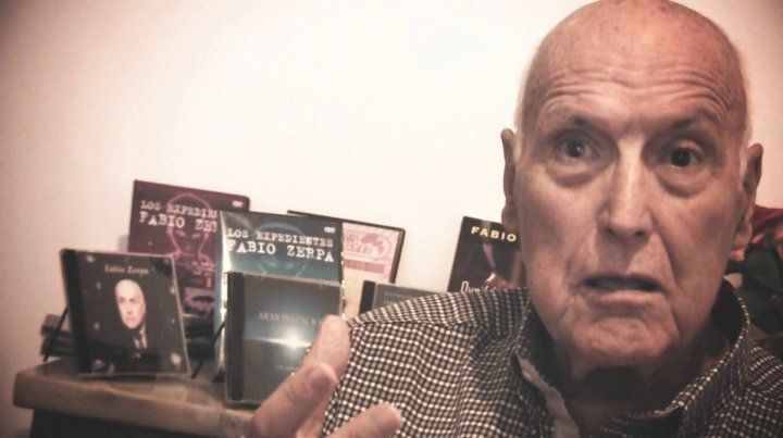 A los 90 falleció Fabio Zerpa, un ícono de la investigación del fenómeno ovni