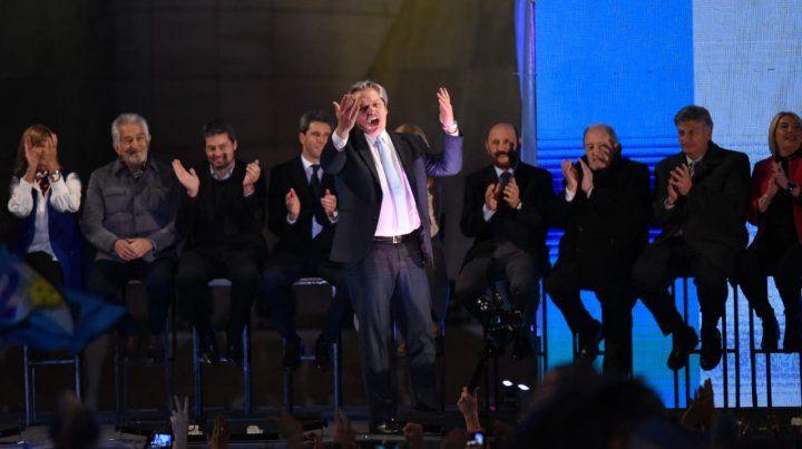 Vamos a cambiar la Argentina el primer semestre, prometió Alberto Fernández