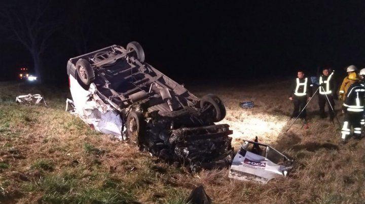 Un muerto al chocar un camión y un utilitario cerca de Santa Isabel