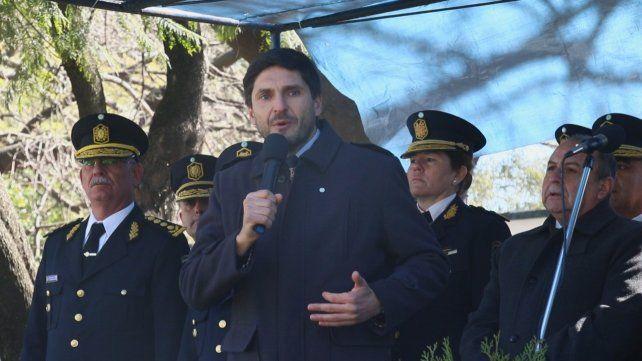 El ministro de Seguridad