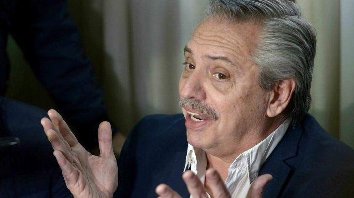 Alberto Fernández dijo que la Argentina está en un default virtual