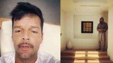 Ricky Martin y una foto que llenó de preocupación a sus fans