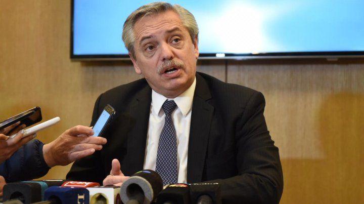 Alberto Fernández: El daño que provocó Macri difícilmente se pueda reparar en dos meses
