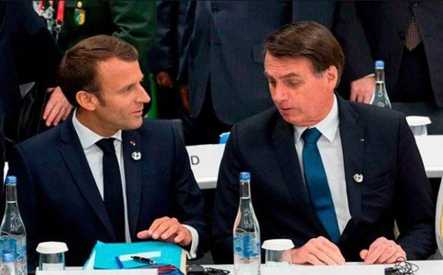 Bolsonaro dice que solo aceptará la ayuda del G7 si Macron retira sus insultos