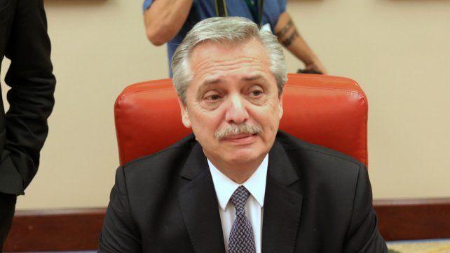 Alberto Fernández (Frente de Todos).