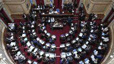 el senado convirtio en ley la emergencia alimentaria en forma unanime