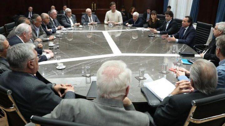 Dante Sica al frente de la reunión entre empresarios