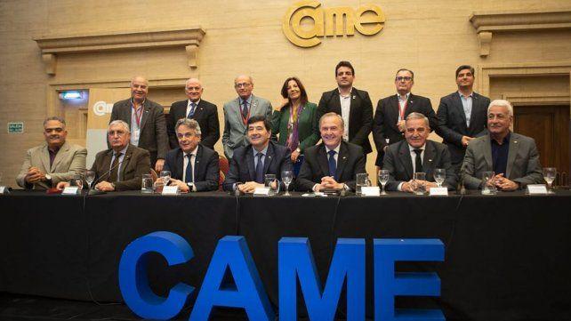 Ricardo Diab en representación de la Confederación Argentina de la Mediana Empresa (Came) fue uno de los participantes de la reunión de ayer en el Ministerio de la Producción.