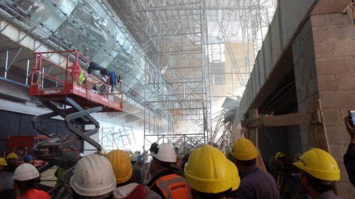 El trágico desenlace se produjo en el Sector C de la Nueva Terminal de arribos de Ezeiza.