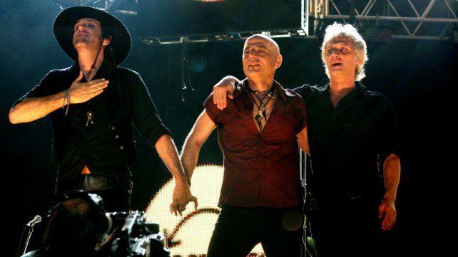 La banda en la reunión de 2007