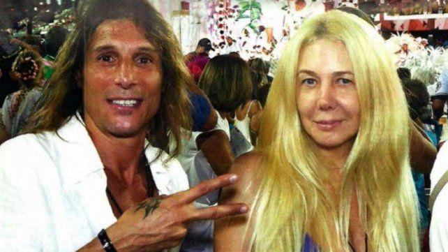Caniggia y Nannis en épocas más felices