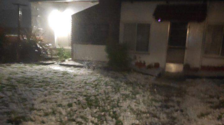 Graves daños en Pergamino por la caída de granizo