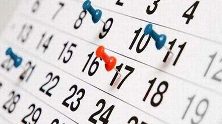Faltan 31 días para el próximo feriado