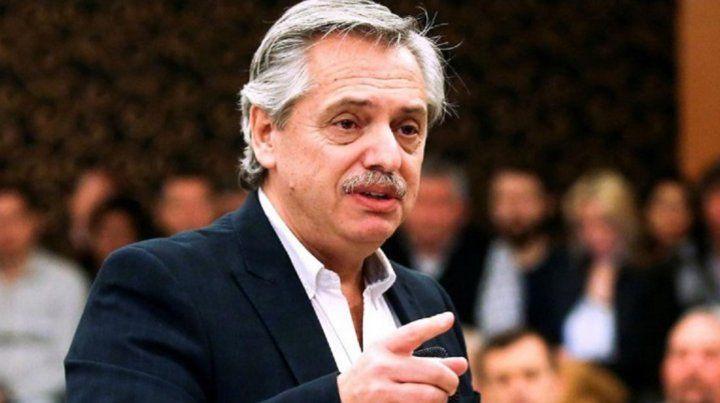 Alberto Fernández: Estén tranquilos porque vamos a cuidar sus ahorros y sus depósitos en dólares