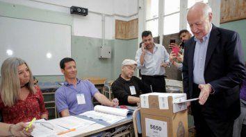 argentina tiene todo para ser una sociedad prospera dijo lavagna al votar