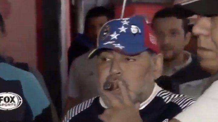 Diego Maradona, a un paso de dejar Gimnasia