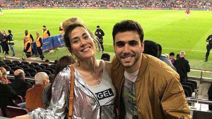 El exabrupto de Jimena Barón al gritar un gol de Messi