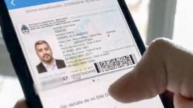 El Gobierno oficializó el DNI digital para celulares