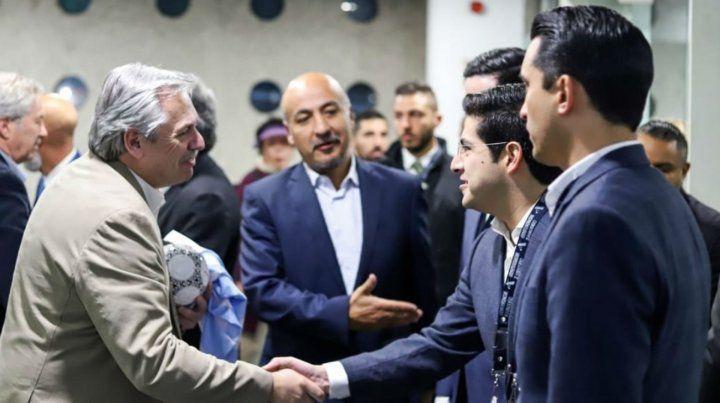 Alberto Fernández se reúne con López Obrador y con el empresario Carlos Slim