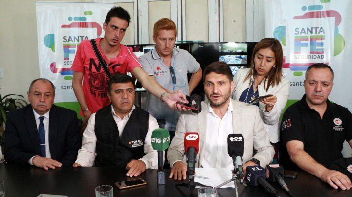 El ministro de Seguridad Maximiliano Pullaro aseguró que el procedimiento de ayer fue impactante.