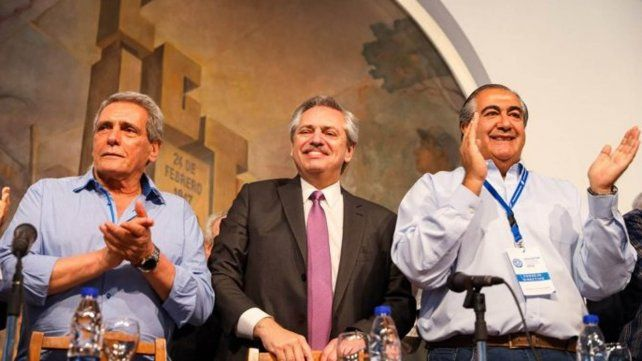 Alberto Fernández: El movimiento obrero es parte del gobierno que empieza el 10 de diciembre