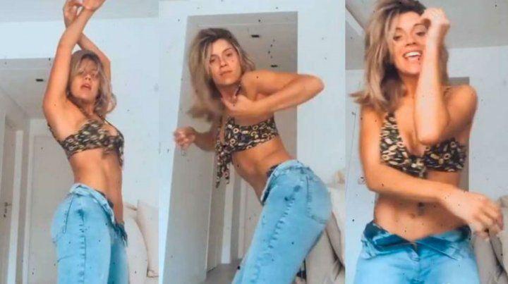 Laurita Fernández, muy sensual en un video al ritmo de Lali Espósito