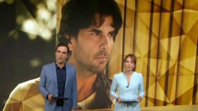 La televisión brasileña presentó un informe sobre Juan Darthés