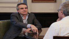 Agustín Rossi, diputado kirchnerista, suena para ser nuevamente ministro de Defensa.