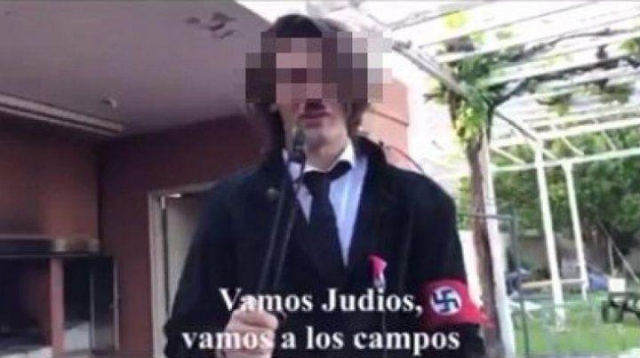 Escándalo en San Juan por un video de alumnos que parodian al nazismo