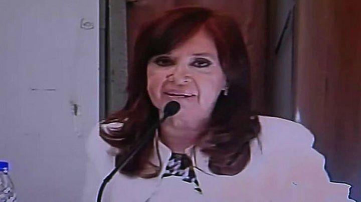 Filtran videos con de la declaración de Cristina en Comodoro Py