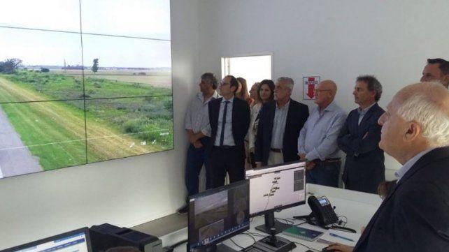 Lifschitz inauguró el sistema de tránsito inteligente en la autopista Rosario-Santa Fe