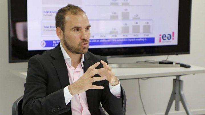 Martín Guzmán será el ministro de Economía.