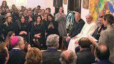 fabiola yanez se reunio con el papa y la esposa de bolsonaro
