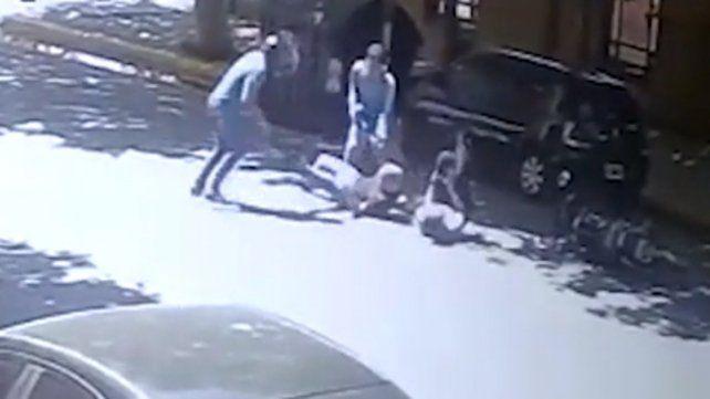El video del asesinato del turista inglés en Puerto Madero