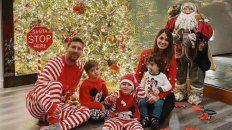 Los Messi ya están listos para la llegada de Papá Noel.