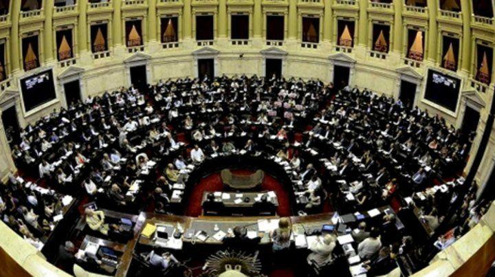 plenario. Cuando Diputados aprobó las leyes de emergencia